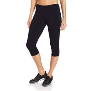 Jockey Yoga Workout Cropped Capri Leggings